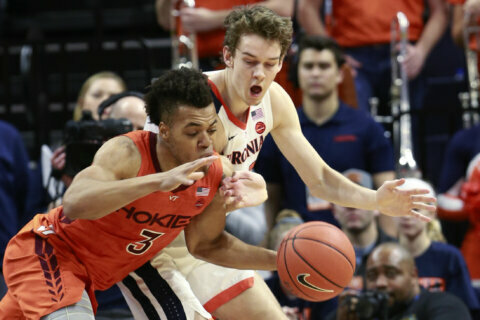 Beltway Basketball Beat: U.Va., Virginia Tech dealing with one frigid February