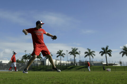 With the Nationals at Spring Training: Third things first
