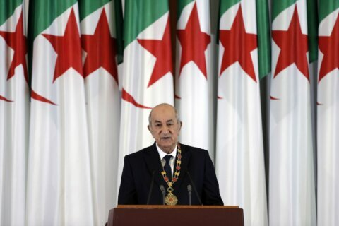 Algeria on cusp of change as protest movement marks 1 year
