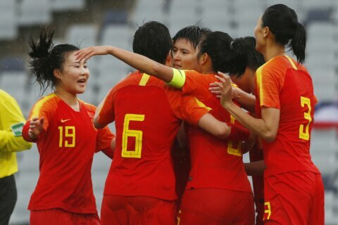 Earlier quarantined China easily wins Olympic qualifier
