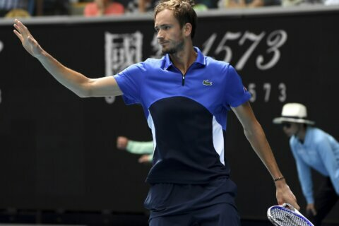 Medvedev loses to Simon again, Tsitsipas into Open 13 semis