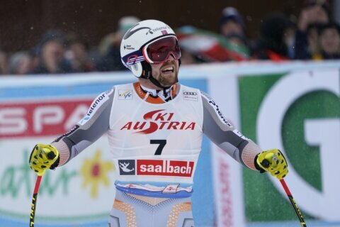 Kilde goes top of World Cup standings with 1st win of season