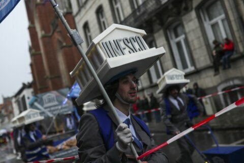 Carnival in Belgium again has Jewish stereotypes in parade
