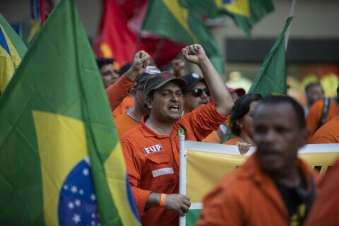 Brazil oil workers clash with Petrobras in 18-day strike
