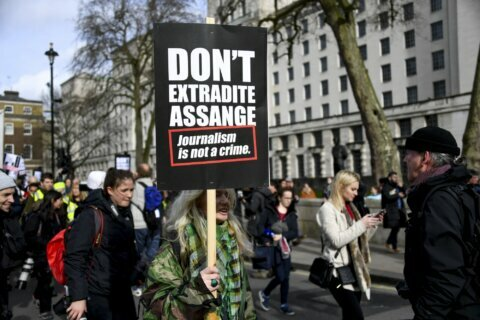 Hero or criminal? Court hears 2 views of WikiLeaks' Assange