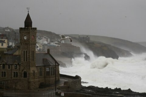 Wales bears the brunt as Storm Dennis hammers Britain
