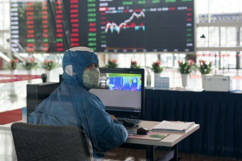 Global shares steady but virus concerns keep buying in check