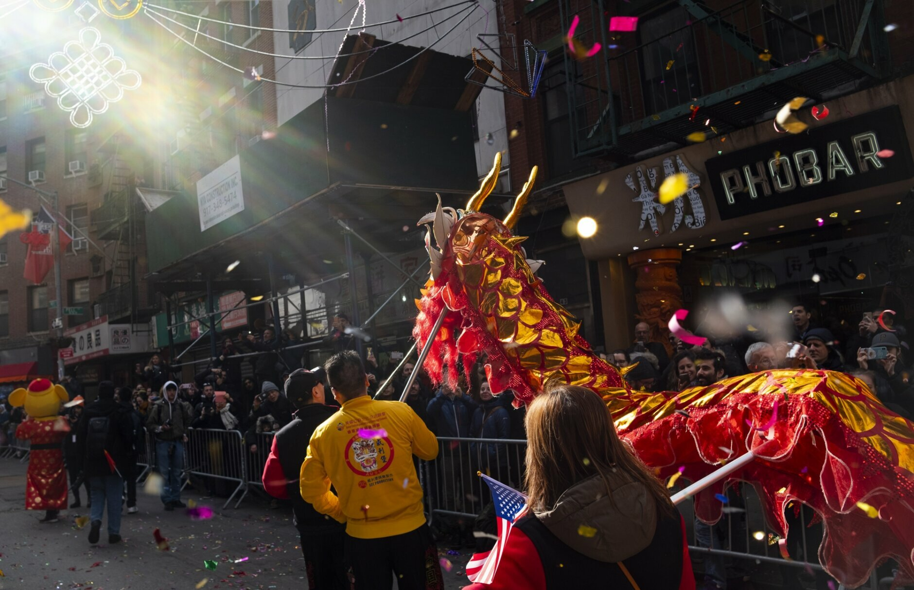 Nyc Lunar New Year Parade Showcases Support For China Wuhan Wtop