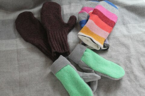 Crafts: Turn stained, shrunken sweaters into cozy mittens