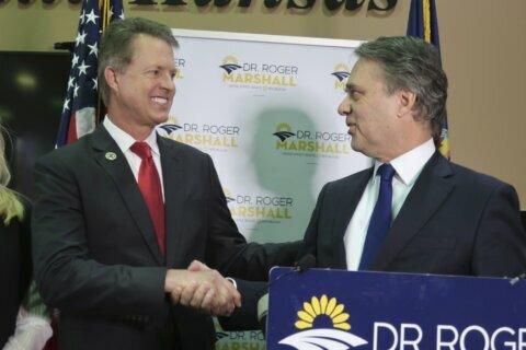 Ex-Kansas Gov. Colyer endorses Rep. Marshall in Senate race