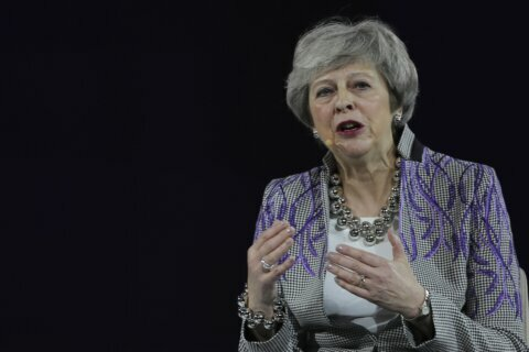 Women in politics: Theresa May recounts 'sticky tape' moment