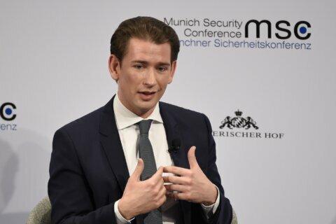 Austria's Kurz: German conservatives right to shun far-right