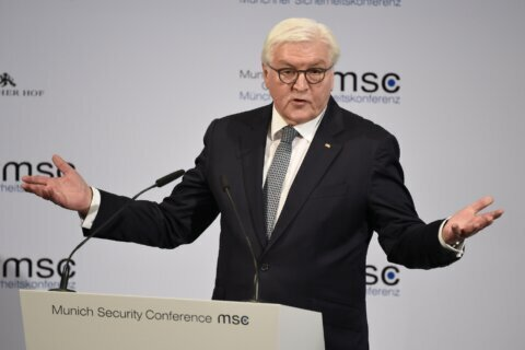 German president criticizes US stance at security conference