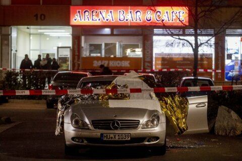 Suspect, 1 other found dead after 9 people killed in Germany