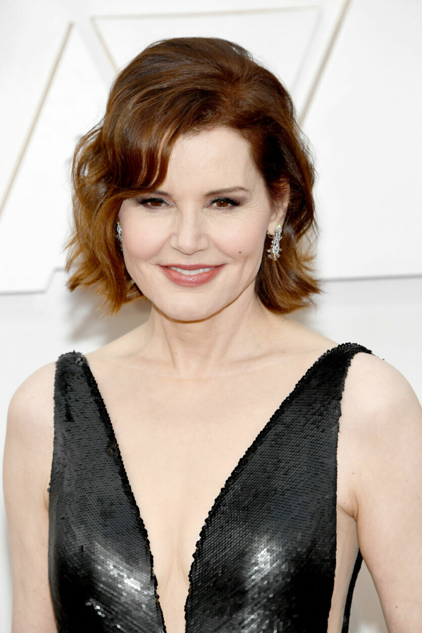 HOLLYWOOD, CALIFORNIA - FEBRUARY 09: Geena Davis attends the 92nd Annual Academy Awards at Hollywood and Highland on February 09, 2020 in Hollywood, California. (Photo by Kevin Mazur/Getty Images)