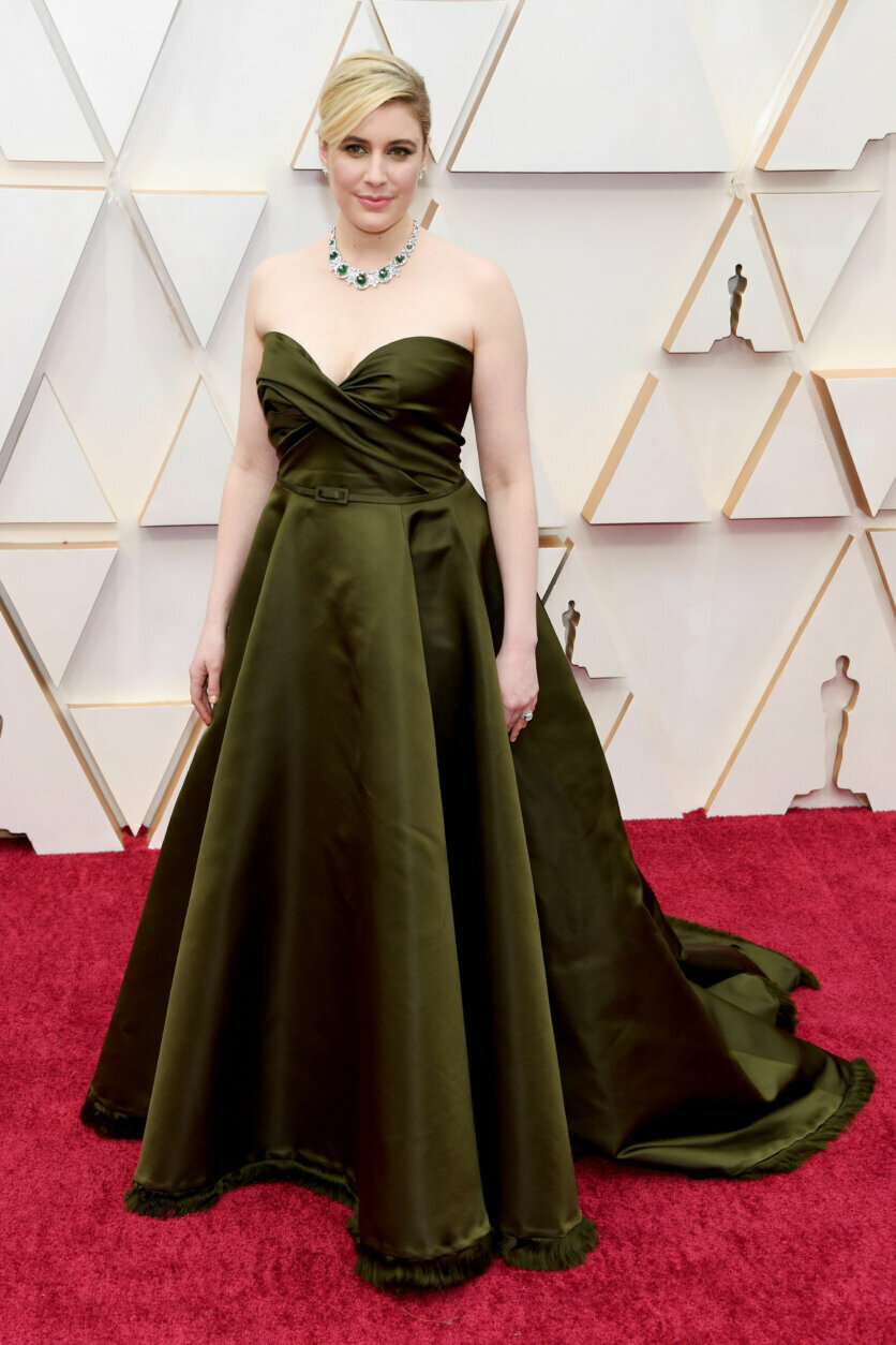 HOLLYWOOD, CALIFORNIA - FEBRUARY 09: Greta Gerwig attends the 92nd Annual Academy Awards at Hollywood and Highland on February 09, 2020 in Hollywood, California. (Photo by Kevin Mazur/Getty Images)