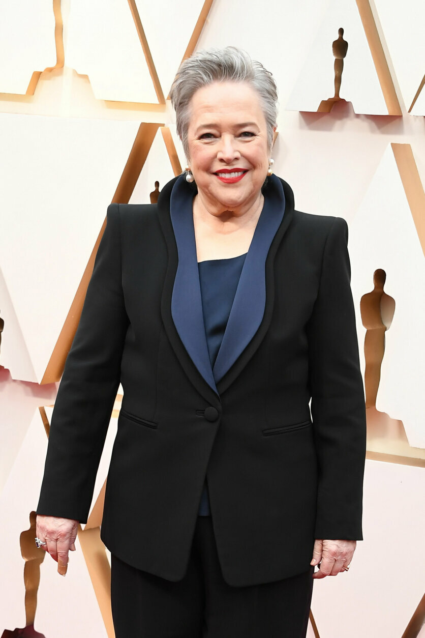 HOLLYWOOD, CALIFORNIA - FEBRUARY 09: Kathy Bates attends the 92nd Annual Academy Awards at Hollywood and Highland on February 09, 2020 in Hollywood, California. (Photo by Steve Granitz/WireImage)