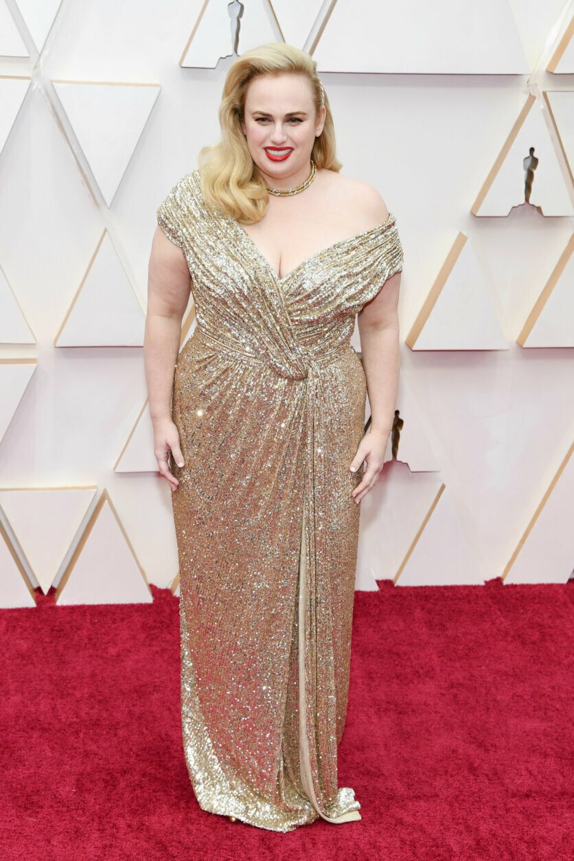 HOLLYWOOD, CALIFORNIA - FEBRUARY 09: Rebel Wilson attends the 92nd Annual Academy Awards at Hollywood and Highland on February 09, 2020 in Hollywood, California. (Photo by Kevin Mazur/Getty Images)