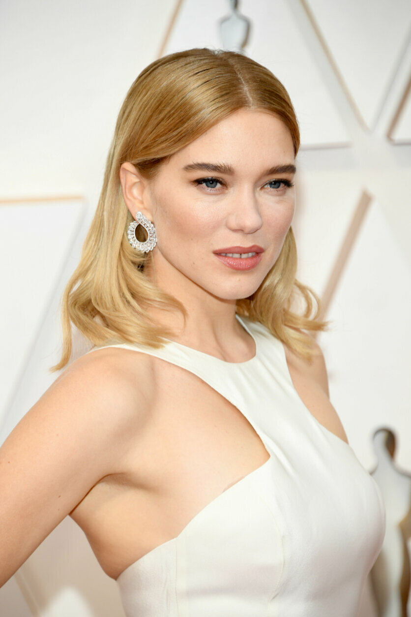 HOLLYWOOD, CALIFORNIA - FEBRUARY 09: Léa Seydoux attends the 92nd Annual Academy Awards at Hollywood and Highland on February 09, 2020 in Hollywood, California. (Photo by Kevin Mazur/Getty Images)
