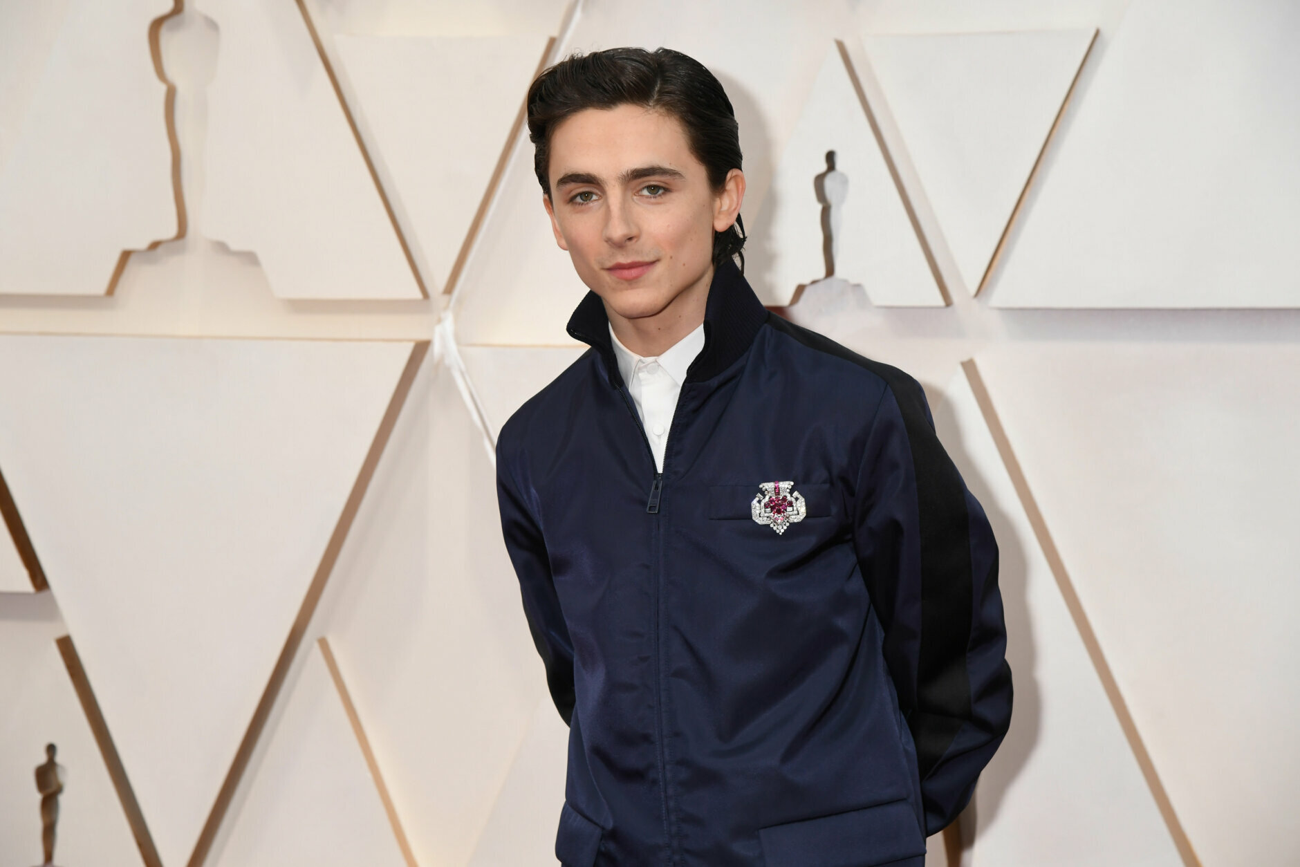 HOLLYWOOD, CALIFORNIA - FEBRUARY 09:  Timothée Chalamet attends the 92nd Annual Academy Awards at Hollywood and Highland on February 09, 2020 in Hollywood, California. (Photo by Jeff Kravitz/FilmMagic)
