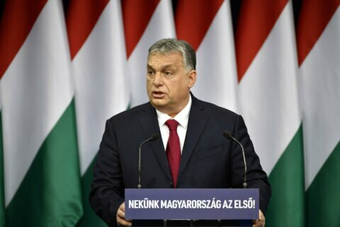 Hungary's Orban warns about climate crisis, slow EU growth