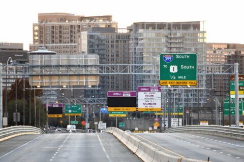 First look at I-95/395 toll lane use and financial returns finds Transurban made $17M