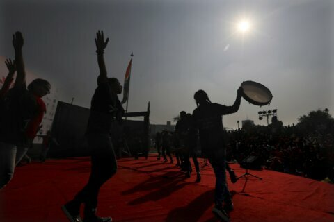 Indian artists demand end to violence against women