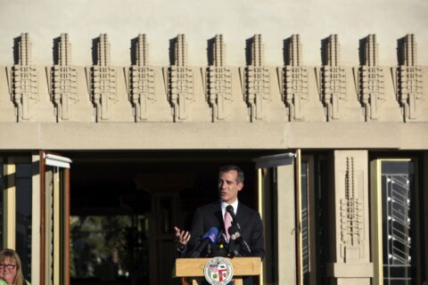 UNESCO plaque unveiled at Lloyd Wright's Hollyhock House