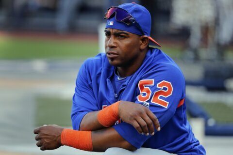 Mets slugger Céspedes says he expects to be ready for opener