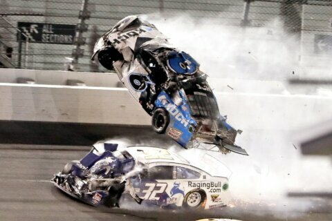 NASCAR drivers sliding back into rhythm after Newman wreck