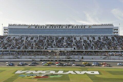 NASCAR execs give friendly wave around to fans at Daytona