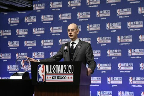 Silver: NBA, USA Basketball still may play in China in 2020