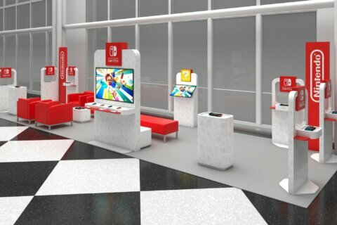 Dulles gets a Nintendo Switch lounge
