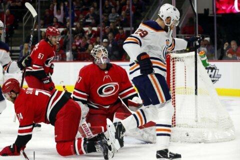 Archibald, Draisaitl lift Oilers over Hurricanes 4-3