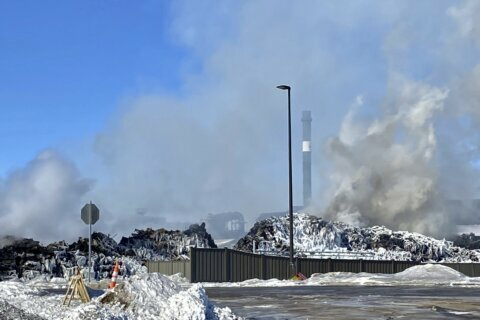 Minnesota shuts down recycling plant, site of massive fire