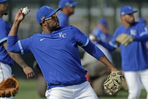 Royals newcomer Franco changes look, hopes to change results