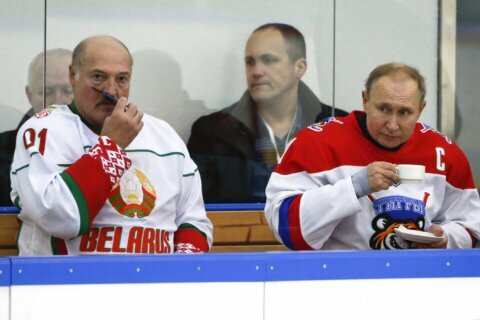Belarus leader says Russia insists on merging the two states