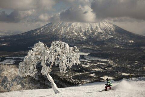 AP PHOTOS: Olympic bidder Sapporo has erratic snowfall