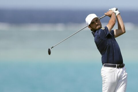 After pairing with Woods, Ancer reaching a higher altitude