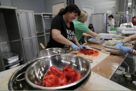 Florida homeless group helps top chefs prep food festival