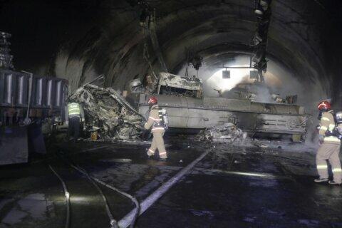 2 killed, dozens injured in highway pileup in South Korea