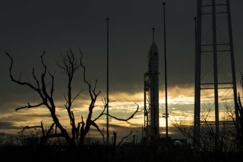 Rocket launch visible in DC region pushed back to Saturday