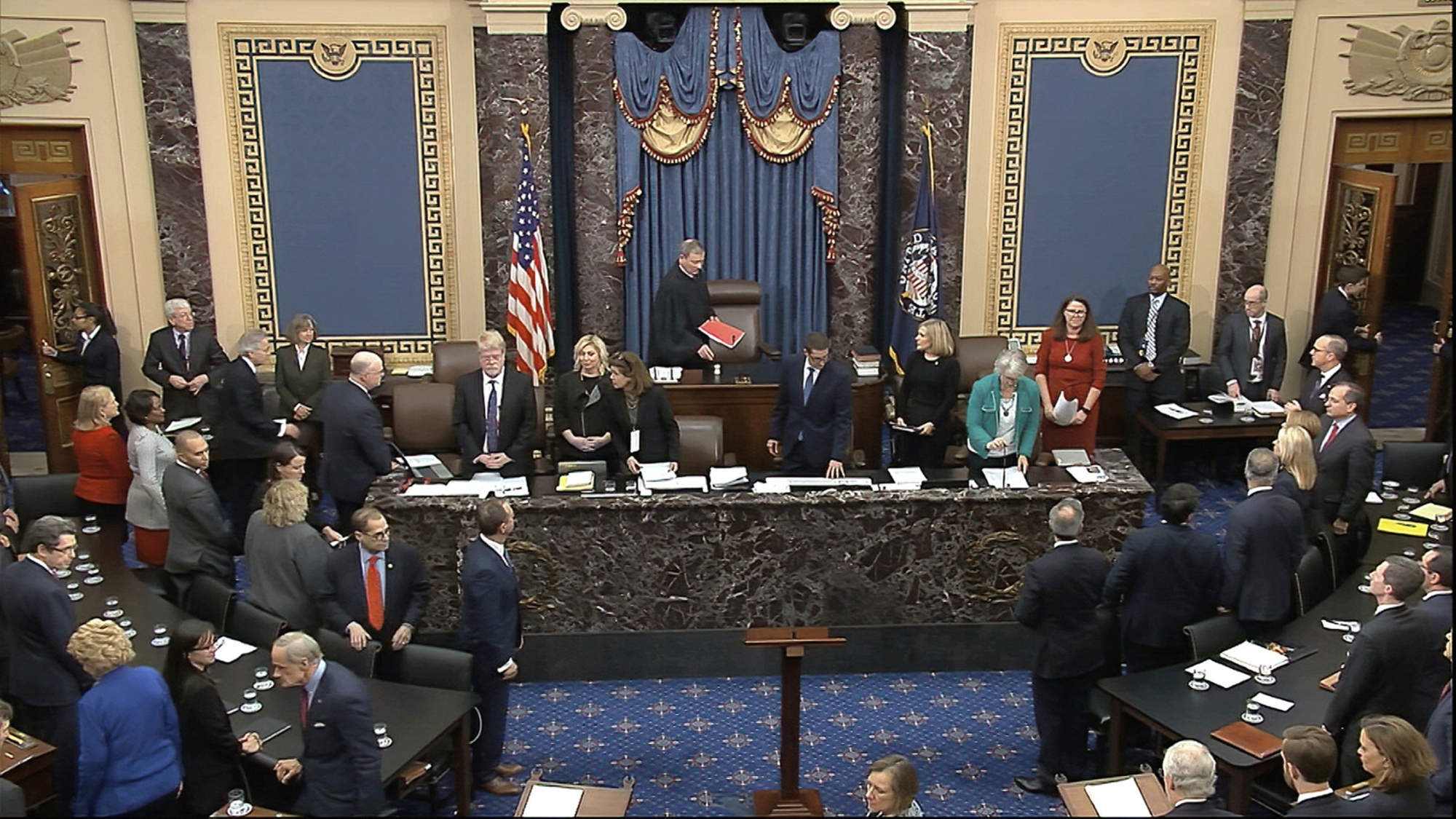 Not guilty: Senate acquits Trump of impeachment charges   WTOP