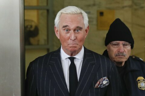 Trump ally Roger Stone to be sentenced as case roils DOJ