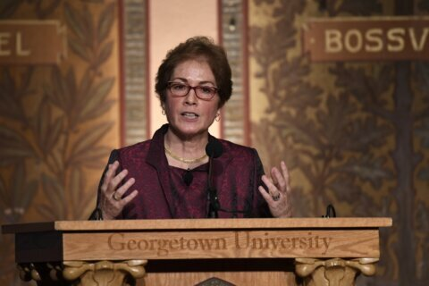 Former Ukraine diplomat Marie Yovanovitch has book deal