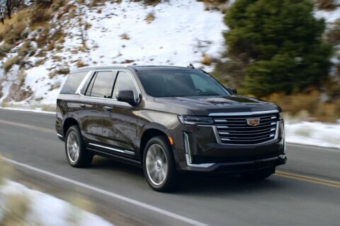 The new Cadillac Escalade can drive itself