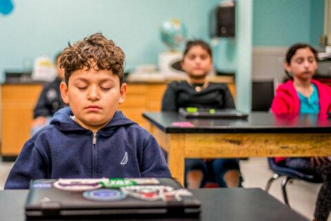 Alexandria school helping kids focus using meditation techniques
