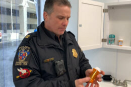 Montgomery County officer shows where opioids can be hidden