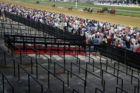New Preakness date uncertain but infield party canceled