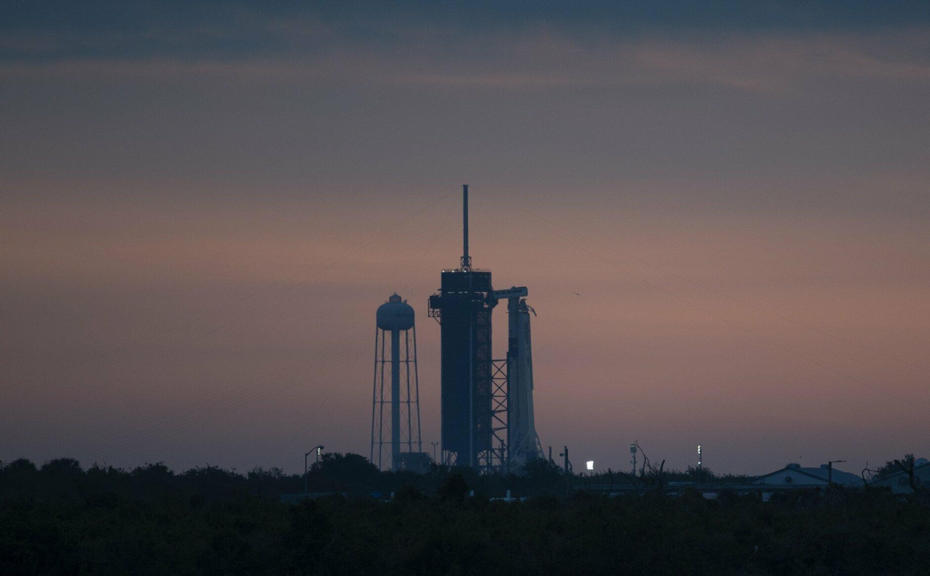 SpaceX Demo-2 Preflight